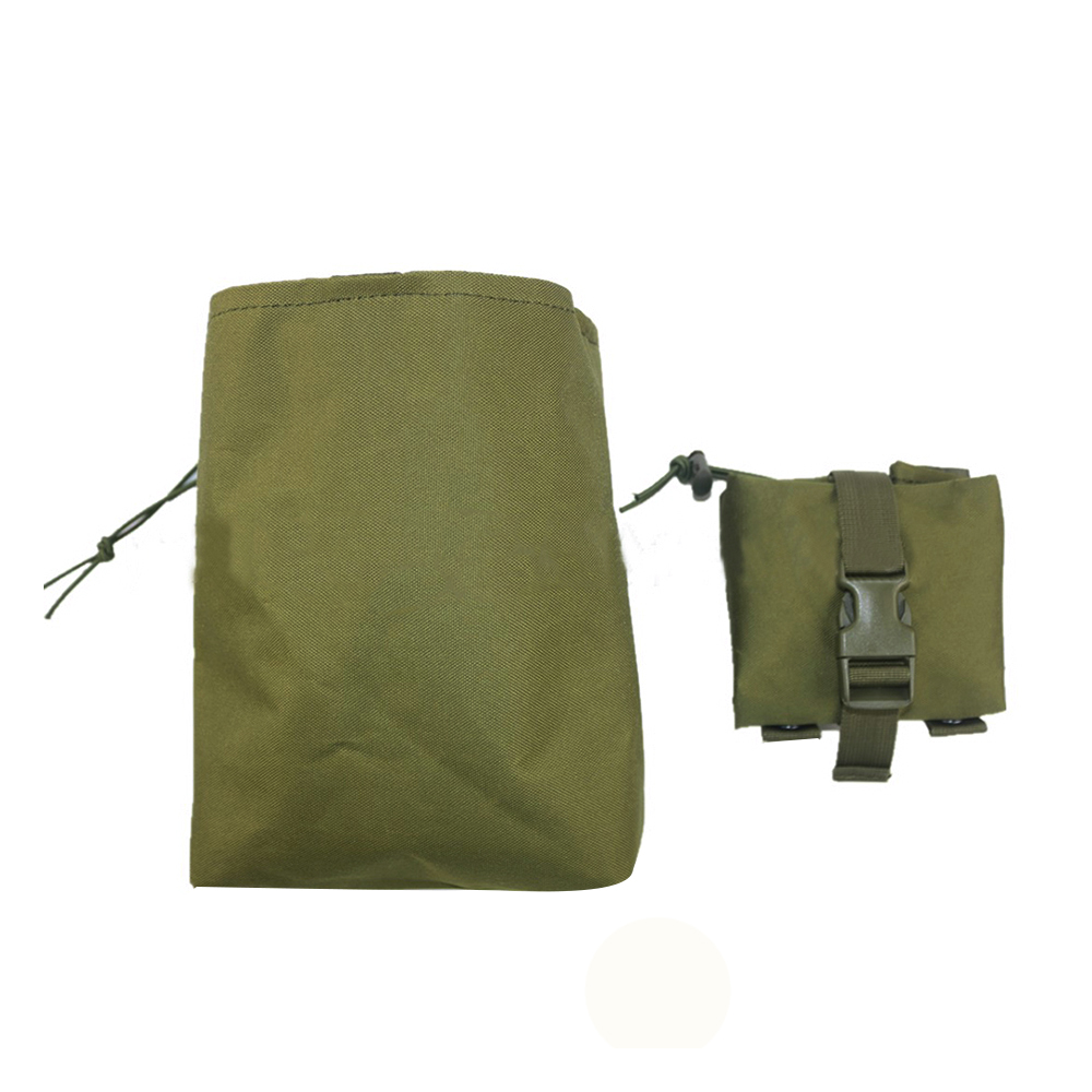 Tactical Foldable Magazine Pouch Molle Waist Bag Three Fold Mag Recovery Pocket Pouch Military Accessory airsoftpeak military tactical waist hunting bags 1000d outdoor multifunctional edc molle bag durable belt pouch magazine pocket