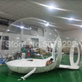 Воздушный купольный тент для двора  гигантский надувной тент для вечеринки 3/4/5 м  надувной тент для Igloo  рекламный прозрачный надувной отель