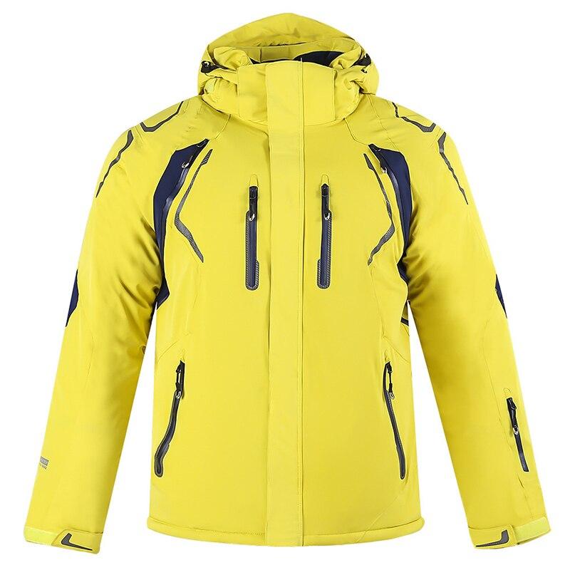 Hiver nouveau 2018 hommes et femmes simple et double planche ski costume coupe-vent imperméable manteau chaud extérieur alpinisme sportswear - 3