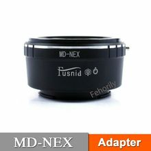 купить MD-NEX Adapter for  MD Lens to  E Mount NEX A7R2 A7M2 Camera Adapter по цене 758.96 рублей