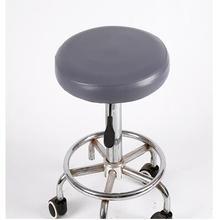 Домашний круглый стул pu кожаный чехол для табурета Водонепроницаемый барный чехол для кресла для дома Декор