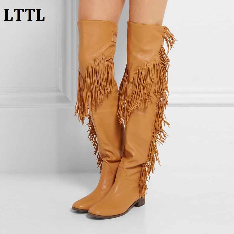 Popular Tall Fringe Boots-Buy Cheap Tall Fringe Boots lots from ...