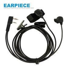 Vibrate Ear Bone Earpiece Speaker Mic 2 in 1 Finger PTT Headset For Wouxun Puxing Kenwood TK3107 Baofeng UV-5R TYT Walkie Talkie