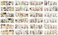 156DESIGNS 1Lot==12 Sheets VINTAGE ROMAN PARIS AUDREY WATER NAIL ART STICKERS  BN01-BN156