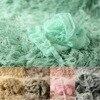 5colors 150x100cm Blanket Mohair Wrap Headband Set Newborn Photo Props Faux Fur Baby Photography Backdrops Background