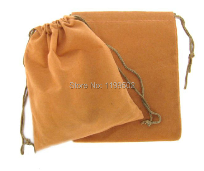 high quality drawstring velvet jewelry bag for gifts