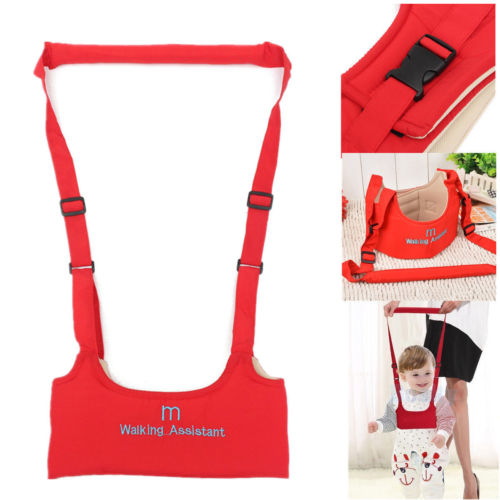 Baby Toddler Walking Assistant Learning Walk Safety Reins Harness Leashes Walker Wings