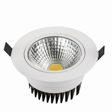 Hot sale 10w  15w cob led downlight dimmable recessed lamp home epistar spot kitchen down light
