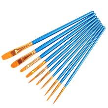 Гуашь многофункциональная нейлоновые деревянной акварель ручкой кисти ручка волосы шт./лот дети