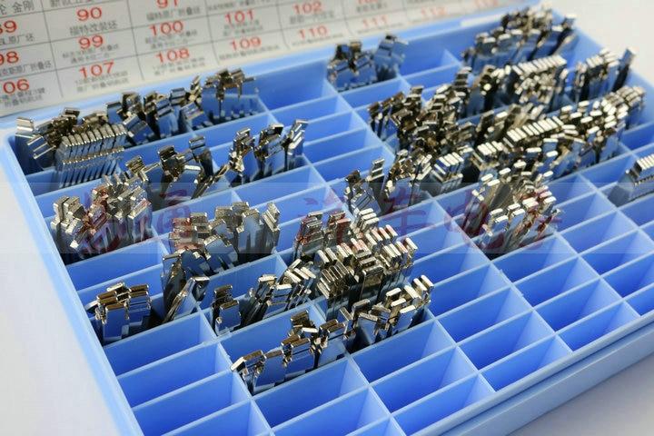 Regular Full Cars 130 Types x 5pcs Folding key blade Car key embryo replacing the key