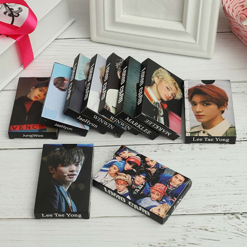 Office & School Supplies Humor 30pcs/set Kpop Nct U 127 Boss Taeyong/mark/winwin/jaehyun/jungwoo Personal Lomo Paper Card Self Made Photocard Poster Curing Cough And Facilitating Expectoration And Relieving Hoarseness School & Educational Supplies