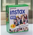 High qulaity Fuji Fujifilm Instax Instant Wide Film 20 White Sheets For 300 200 210 100 500AF free shipping
