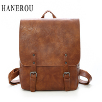 Preppy Style Female Backpack Women Bag High Quality Leather Backpack Big Capacity School Bags For Girls