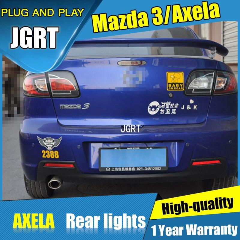 Автомобиль для укладки 4шт для Mazda 3 задние фонари 2006-2012 для Mazda 3 LED задний фонарь+сигнала поворота+тормоза+задние светодиодные