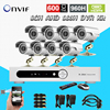 8 Channel AHD 960H DVR With 600TVL Waterproof Video Camera System 8CH CCTV Surveillance System H