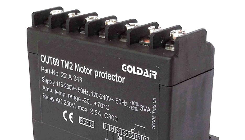 OUT69TM TM2 Copeland Compressor Protection Module Motor Protector Replaces INT69 TM2
