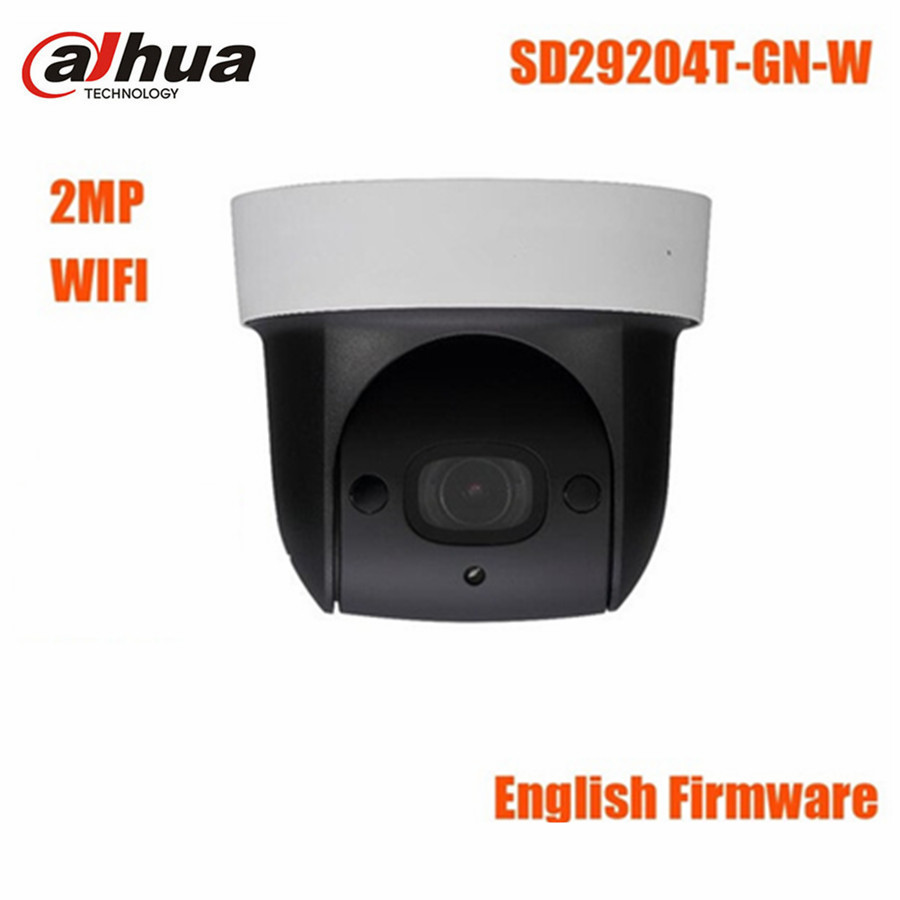 Dahua 2MP PTZ POE Speed Dome Camera DH-SD29204T-GN Mini 4x Optical Zoom built in Mic IP66 WIFI CCTV Camera English version multi language cctv ip camera ds 2de2202 de3 w 2mp auto ptz dome camera with wifi 2x zoom built in mic