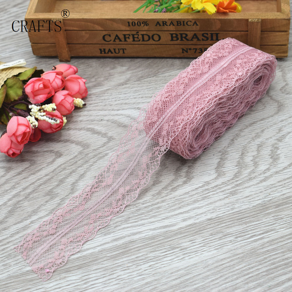 HTB1lsqliL9TBuNjy0Fcq6zeiFXa5 New! 10 yards beautiful lace ribbon, 3.8 cm wide, DIY decoration accessories, holiday decorations