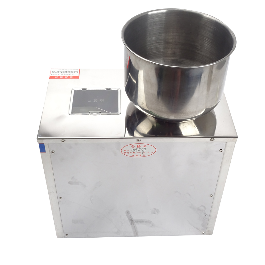 Купить с кэшбэком 1pcs weighing and packing bag tea packaging machine automatic measurement of particle packing machine 1-25g