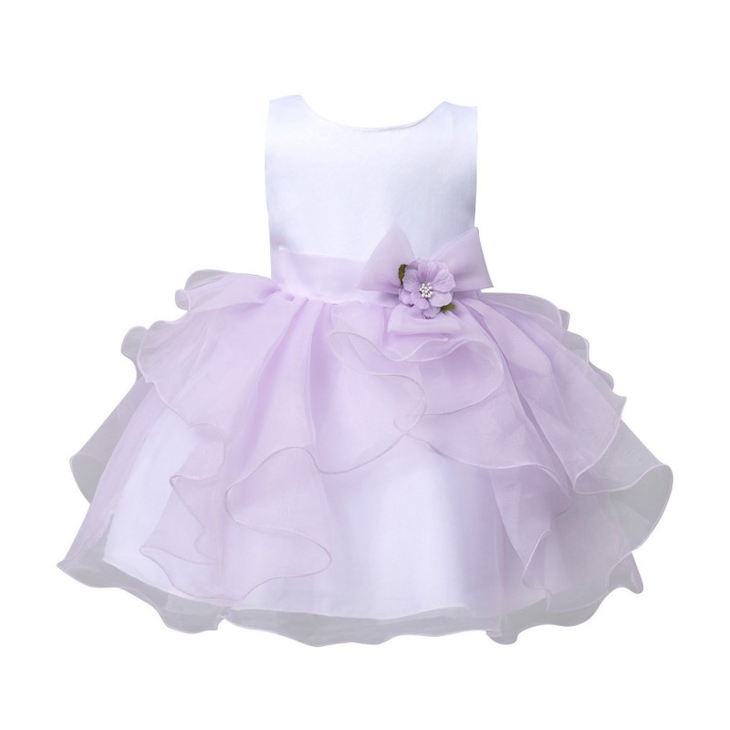купить Girls Dress Baby Princess Dresses Summer Party Clothes for Girls Sleeveless Wedding Dresses недорого