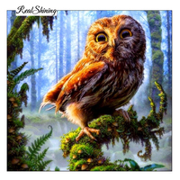 Forest Eagle Needlework 3D Diamond Embroidery Full Resin Diamond With Picture Home Decor Mosaic Diy Diamond