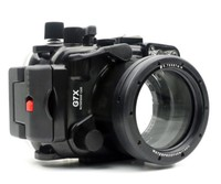 Waterproof Underwater Housing Camera Housing Case for canon G7X 24 100mm Lens Meikon WP DC54