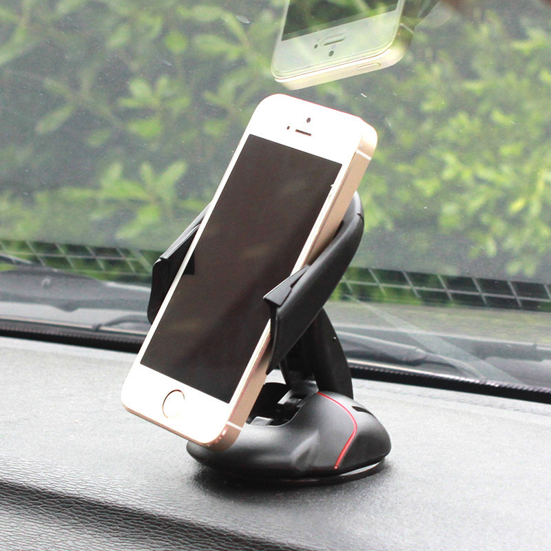 2018 Universal Mobile Phone Car Holder Foldable Mouse Dashboard Rotation Table Stand Holder for iPhone 6/7/8/X Xiaomi Note 4X