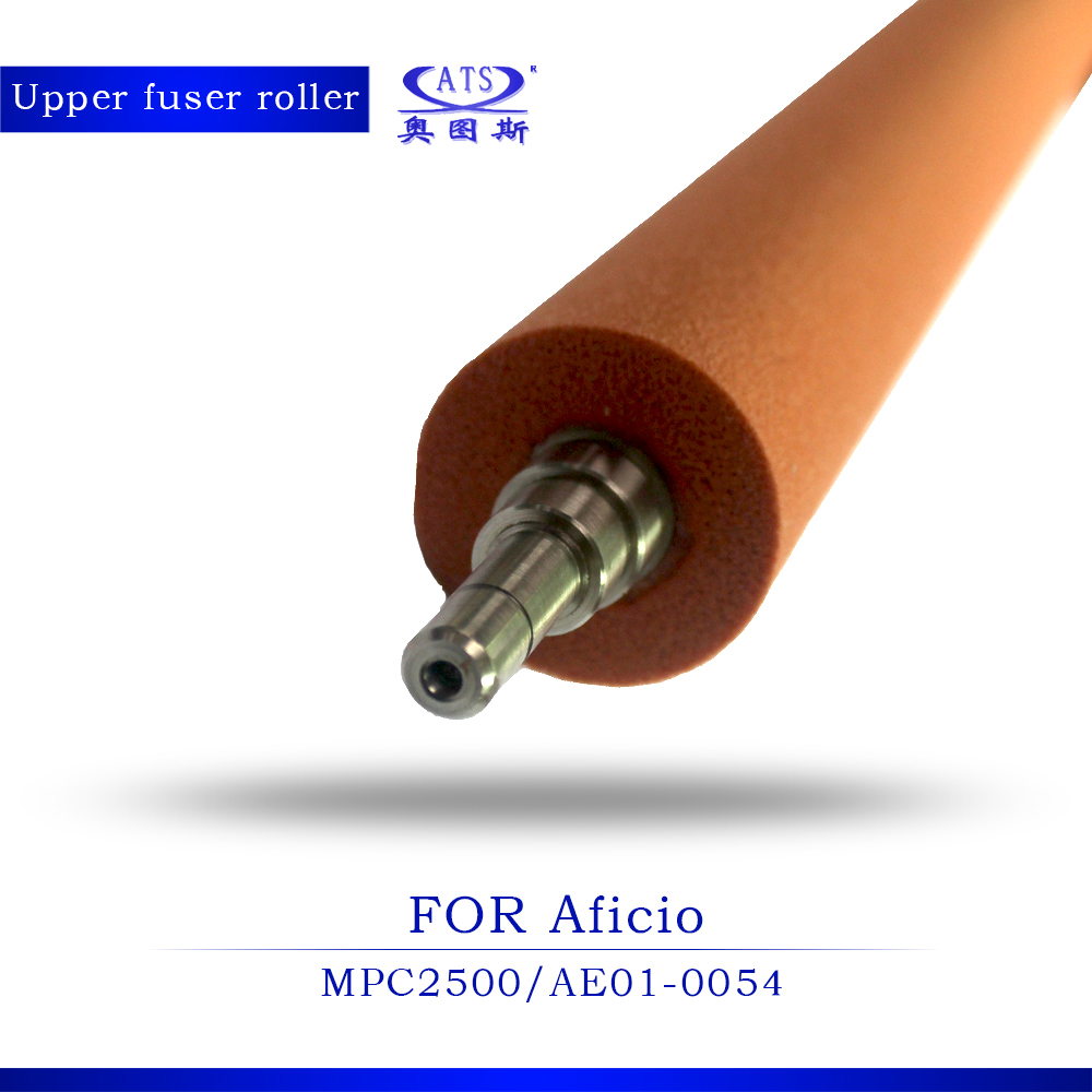 1Pcs MPC 2500 upper roller compatible for Ricoh Aficio MPC2500 AE01-0054 heat roller Copier part photocopy machine 1pcs compatible developer for minolta 7020 7022 7030 7130 7025 copier parts