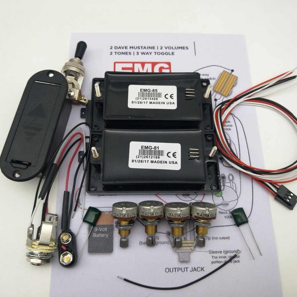 detail feedback questions about guitar pickups 81 85 active