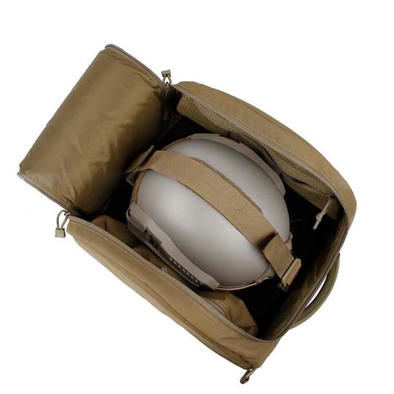 新 Tmc エアガンタクティカルヘルメットバッグ収納実施するためのヘルメット 500D コーデュラ生地  グループ上の スポーツ & エンターテイメント からの ヘルメット の中 3