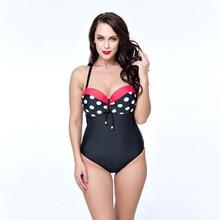 Sexy bodysuit for fat women swimsuit push up monokini swimwear female 2xl-6xl plus size beach wear swimming suit padded