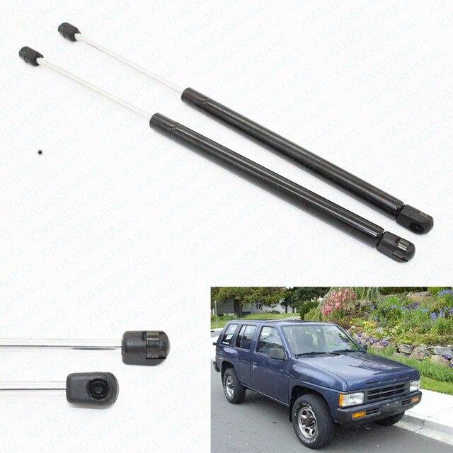2 unids Elevador Arranque Puntales Prop Lift Soporte Auto Gas Primavera ajustes para Nissan Terrano Pathfinder 1991 1992 1993 1994 95 10837