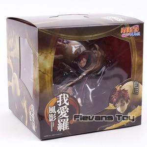 Image 5 - Anime Naruto Shippuden Sand Hidden Village Gaara 5Th Generation Kazekage GEM PVC Action Figure Collectible Model Toy