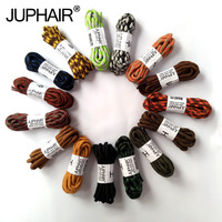 JUP 1 Pair Outdoor Sports Casual Multicolor Bumps Round Shoelace Hiking Slip Rope Shoe Laces Sneakers