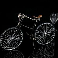 Diy seesmble сплав ностальгическая модель велосипеда Классическая старая модель велосипеда Наборы для подарка