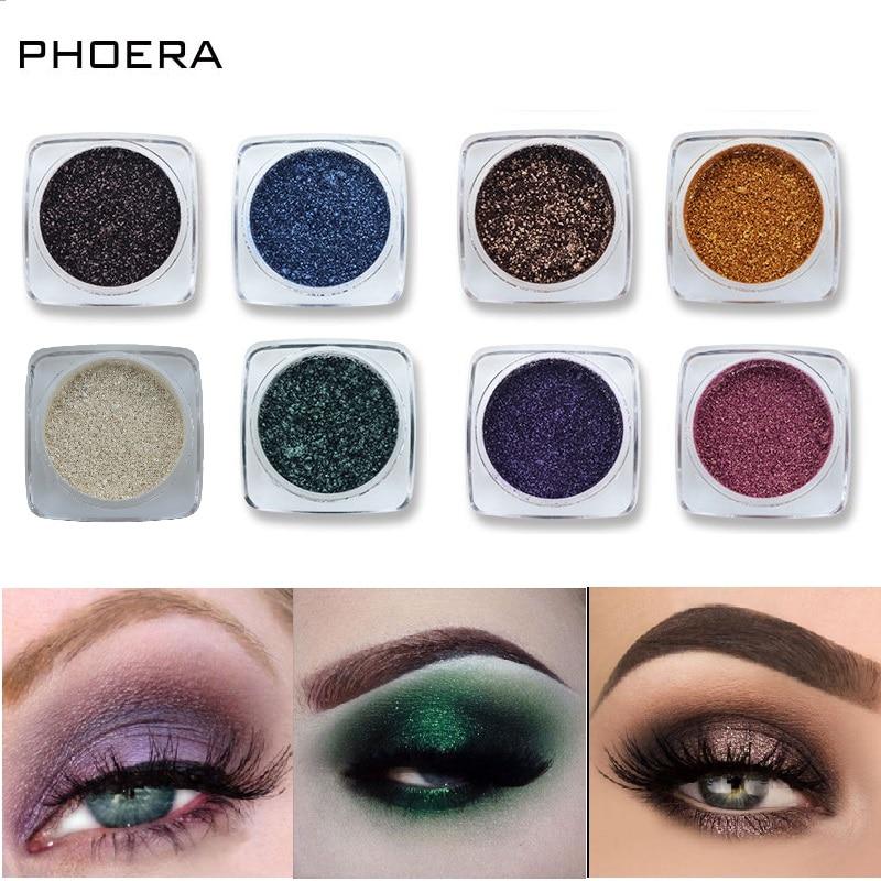 Makeup Body Phoera 12 Colors Cosmetics Eyes Lip Face Makeup Glitter Shimmer Powder Monochrome Eyes Baby Bride Pearl Powder Glitters Tslm2