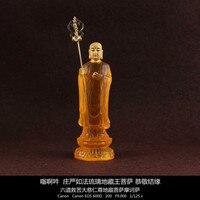 Resin, handmade, Ksitigarbha Bodhisattva, small statues, can be Install Tibet, buddha statue , buddhism figurine