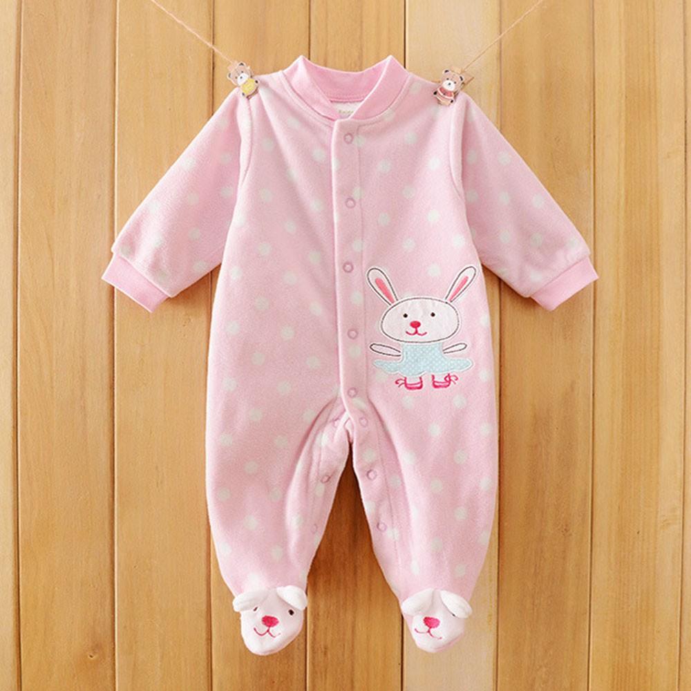 2016-Autumn-Spring-Wave-Point-Baby-Fleece-Pajamas-Rompers-One-Pieces-Long-Sleeve-Jumpsuit-Cute-Animal-Baby-Sleep&Play-Clothes-CL0886 (15)