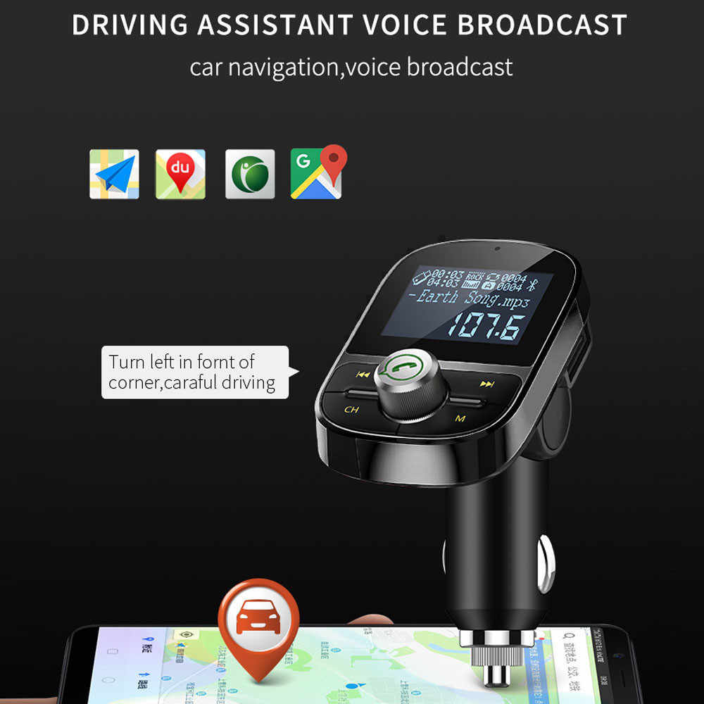 HY92 1,4 pulgadas alta calidad USB coche Dual Kit cargador Bluetooth Estéreo reproductor MP3 transmisor FM soporte manos libres a 57 #