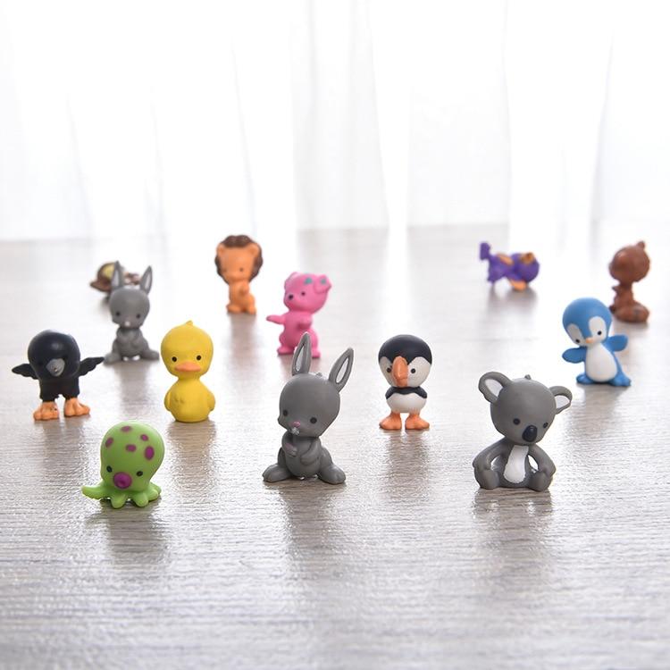 Toy 1pcs-Random-Send Model-Decoration Landscape-Accessories Animal-Doll Mini Dog PVC