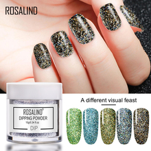 Rosalind12 Colors 10ml/Bottle Nail Glitters Dipping Powder Colorful Nail Powders Dust With Glitters 1bag lot 0 3mm shiny glitters colored nail art glitters decorations graceful eyeshadow powder glitters cosmetic makeup tools