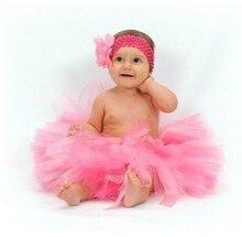 Новая Европа Малыша девушка одежда Christmas party костюмы Повседневная Радуга Девушки туту Принцесса Юбка