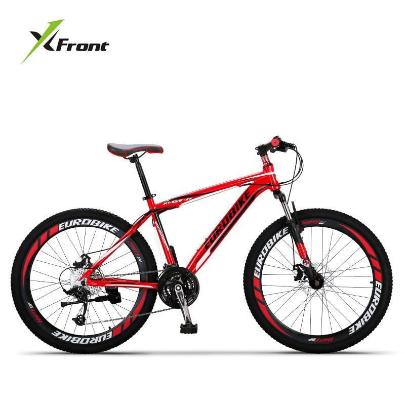 b7cf9cba88a New Brand Mountain Bike Aluminum Alloy Frame 24/26/27.5 inch Wheel 27 Speed