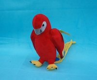 high quality goods lovely colourful parrot plush toy 26cm soft doll birthday gift b4875
