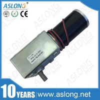 A5882 45 small micro 24V 30W dc worm gear motor high torque with gear reduction