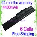 Jigu negro portátil batería bty-s11 bty-s12 de msi x100 x100-g x100-l para Akoya Mini E1210 Wind U100 U90 Wind12 U200 U210 U230
