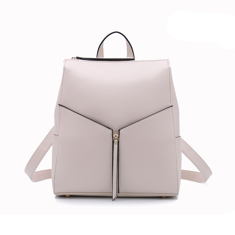 ФОТО New 2017 Bag Backpack Women Casual Popular PU Leather Womens Brand Backpack Fashion All-Match Girls School Bags