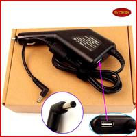 Laptop DC Power Car Adapter Charger 19V 1.75A + USB Port for ASUS VivoBook Q200 Q210 Q200E Q200E-BHI3T45 Q200E-BSI3T08
