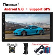 Android 8,0 7 «2 Din универсальный автомобильный Радио сенсорный gps мультимедийный плеер двойной Din Авторадио 2 din для TOYOTA nissan Kia