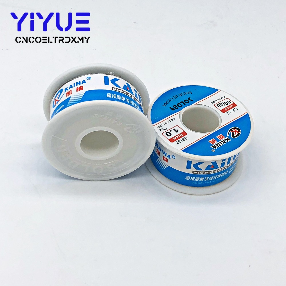 0 5 0 6 0 8 1 1 2 2 3mm 100g 60 40 Rosin Core Tin Lead Solder Wire Soldering Welding Flux 2 0 Iron Wire Reel in Welding Wires from Tools